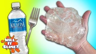 WATER SLIME YOU CAN EAT! REAL EDIBLE CLEAR WATER SLIME DIY! Not Fake!