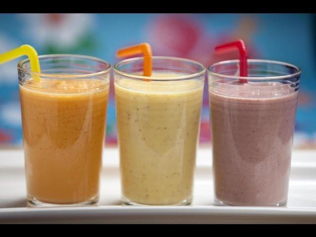 Batido de proteínas con frutas para después o antes del gimnasio