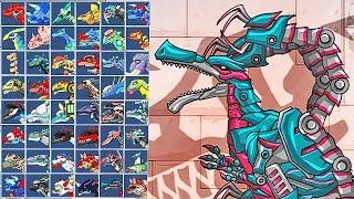 Dino Robot Baryonyx: Assembly + Battlefield | Eftsei Gaming