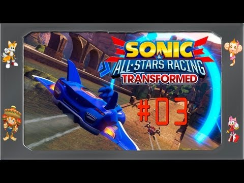 Sonic All Star Racing Transformed - #03