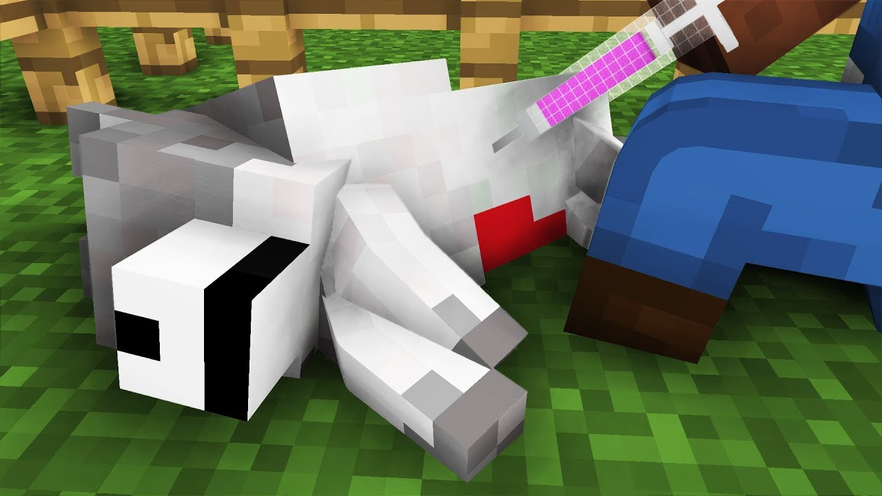 Wolf Life: The Rescue -- Cubic Minecraft Animation