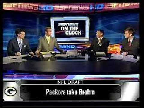espn news-brian brohm headed to green bay packers Video