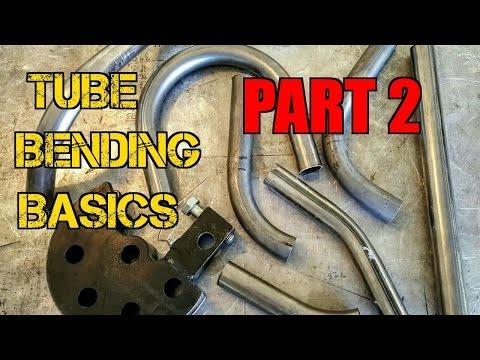 TFS: Tube Bending Basics 2 - Bending the Tubes