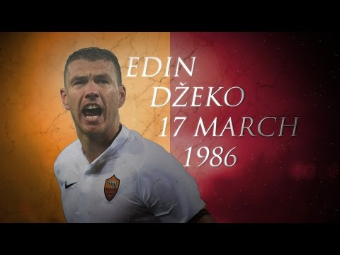EDIN DZEKO GOALS & HIGHLIGHTS | AUGURI | AS ROMA