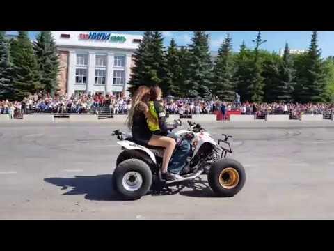 Дрифт шоу / Бугульма 2018 / Парад участников ралли «Шелковый путь»-SilkWay Rally 2018 ч.1
