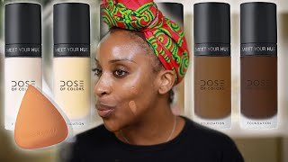 Dose Of Colors Has Foundations!!! LET'S DISCUSS | Jackie Aina