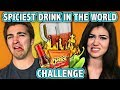 SPICIEST DRINK IN THE WORLD CHALLENGE! (ft. React Cast) | Cha...