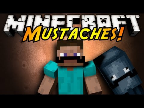 Minecraft Mod Showcase : MUSTACHES!