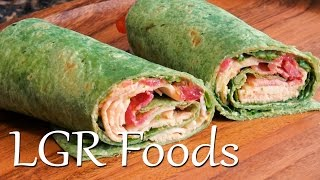 Wrap №1 - Buffalo Chicken & Bacon Spinach Wrap