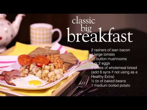 Slimming World classic cooked breakfast