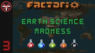 Factorio Earth Science Madness EP3: SO MUCH SPAGHETTI! | Multiplayer Gameplay, Lets Play