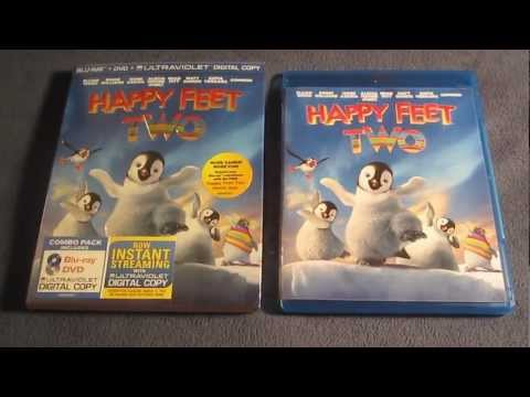 Happy Feet 2  Blu-Ray Review Unboxing