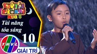 THVL | Thử tài siêu nhí Mùa 3 - Tập 10[6]: Sa mưa giông - Nguyễn Trung Hậu
