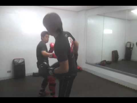 Jeet Kune Do Sparring - Kickboxing -Sifu Ervin and Sifu Ken Image 1