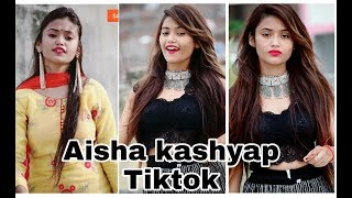New tiktok videos of I am aisha kashyap   aisha kashyap tiktok edutok videos complications
