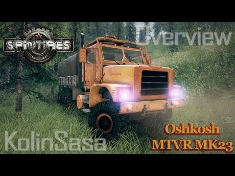Oshkosh MTVR MK23 wheels v1
