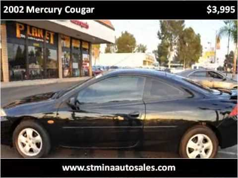 2002 Mercury Cougar Used Cars Montclair CA
