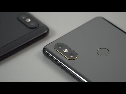 Xiaomi Mi Mix 2S Unboxing Hands-On Review