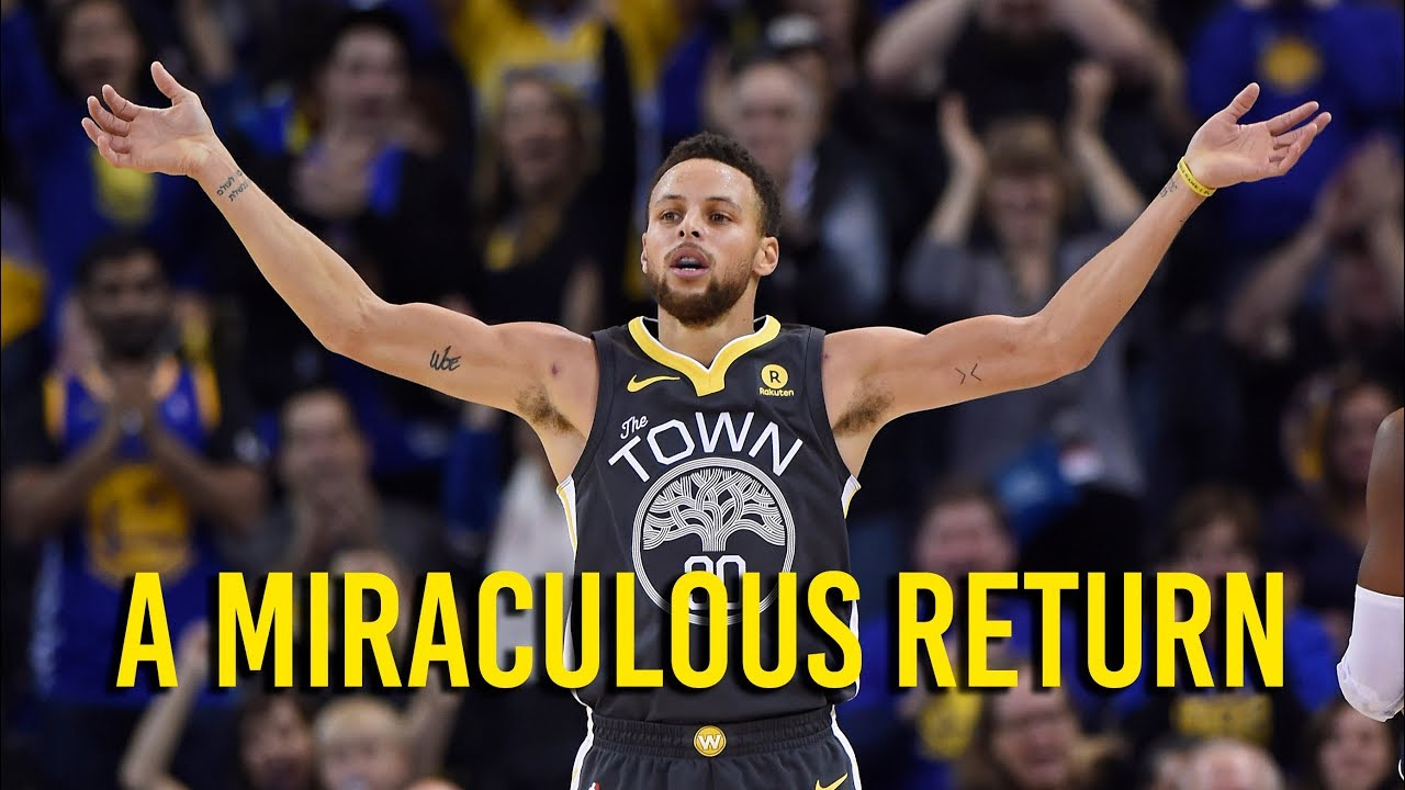 The miraculous return of Stephen Curry