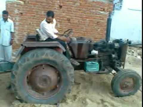 Tractor Stunt By Indian Man Kailash Dhaka video
