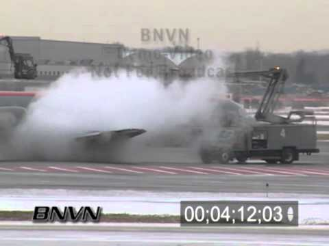 Winter storms and aviation de-icing video Part 3