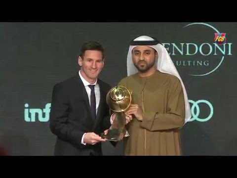 FC Barcelona y Leo Messi acaparan los Global Soccer Awards