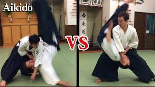 【第3弾】ハイレベルな合気道の攻防03 Aikido Dynamic Throwing to each other part3