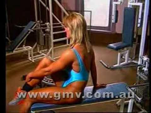 6 X Ms. Olympia Cory Everson Workout From Gmv Bodybuilding video