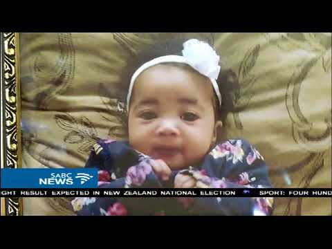 Family bids farewell to baby mauled by pit bull