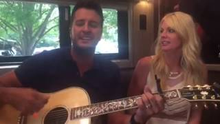 Download Lagu Luke Bryan DID crash my party!!!! Gratis STAFABAND