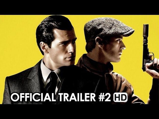 The Man from U.N.C.L.E. Official Trailer #2 (2015) - Henry Cavill, Armie Hammer HD