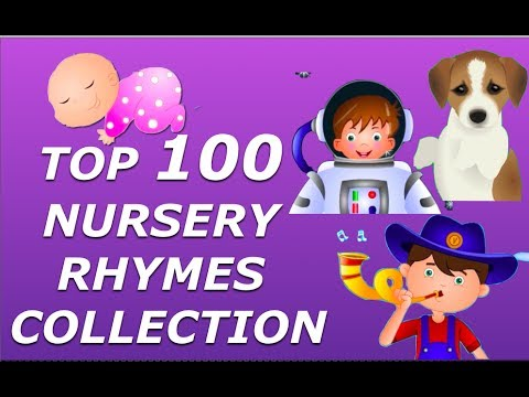 Top 100 Nursery Rhymes Collection For Children - Biggest Rhymes...