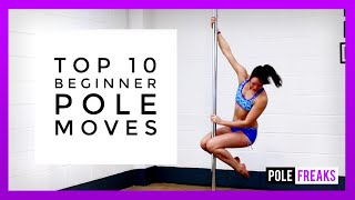 Top 10 Beginner Pole Moves