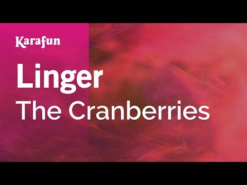 Karaoke Linger - The Cranberries * video