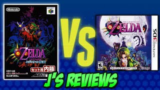 The Legend of Zelda: Majora's Mask Review (N64 vs 3DS)