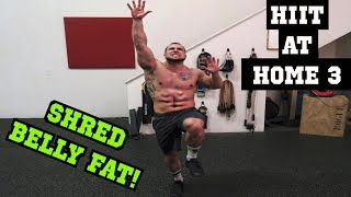 Intense 5 Minute Belly Fat Burning Cardio Abs Workout #3 | HIIT At Home!