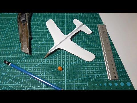 Как сделать крутой летающий самолет из бумаги