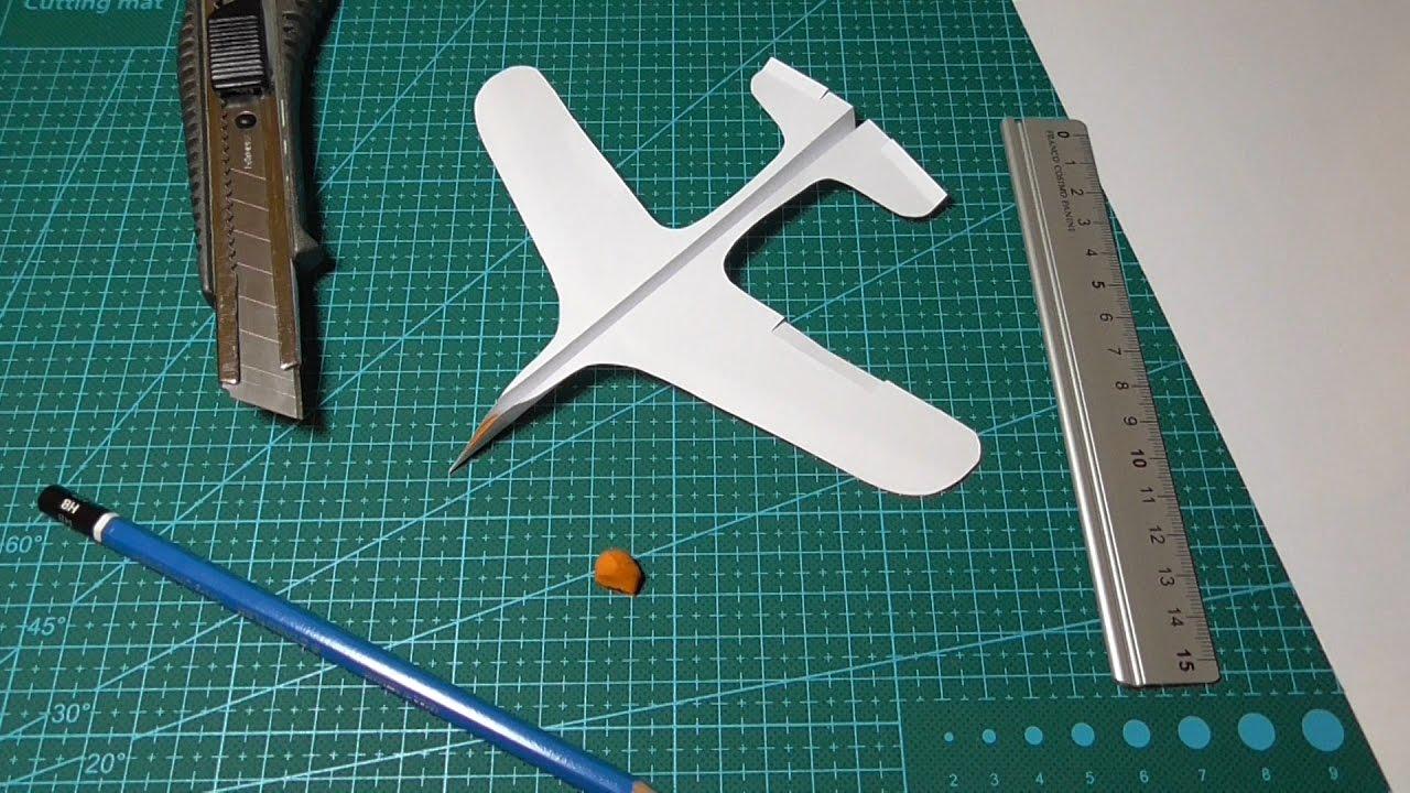 Как самолёт из бумаги своими руками 905