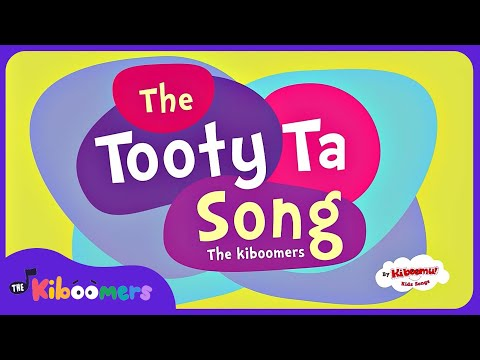 Tooty Ta Song With Lyrics On Screen | Kids Group Dance | Preschool Songs With Actions