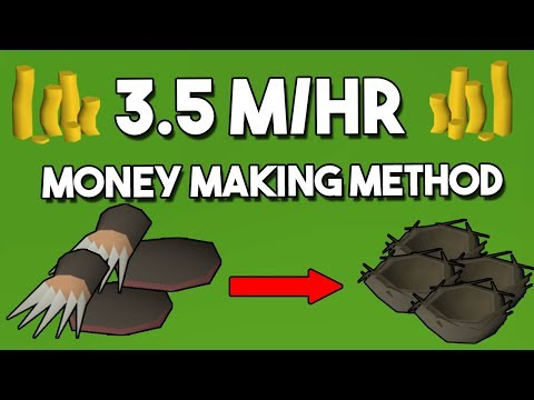 How to Make 3.5M/hr Exchanging Mole Parts! - Oldschool Runescape Money Making Guide [OSRS]