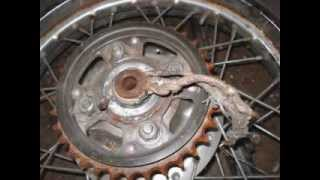 Honda Chopper Project Video #5 MOTORCYCLE TEARDOWN