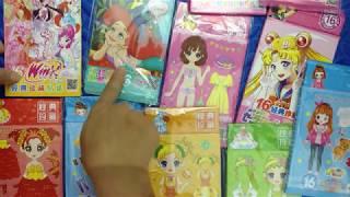 Đồ chơi dán hình váy đầm trang phục búp bê công chúa đẹp nhất Tập 80 Princess doll sticker