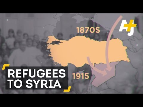 History Of The Refugees Who Fled To Syria