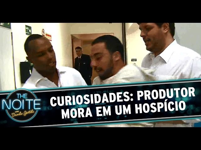 The Noite (24/10/14) - Curiosidades: Produtor mora num hospício