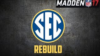 Madden 17 Franchise | ALL SEC TEAM (Southeastern Conference)