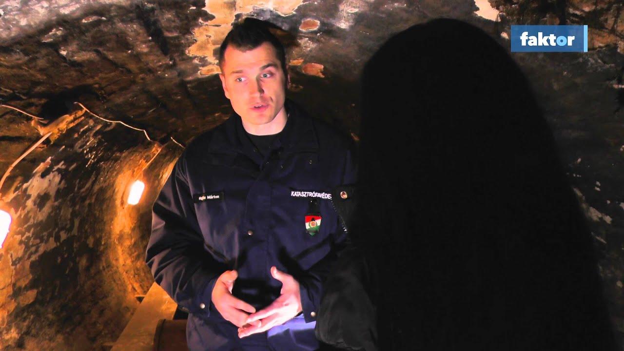 Bejutottunk a föld alatti gyakorlópályára