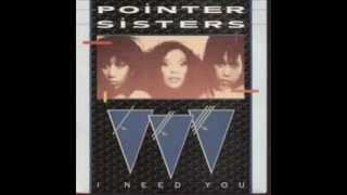 Watch Pointer Sisters I Need You video