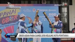Obor Asian Para Games 2018 Keliling Kota Pontianak