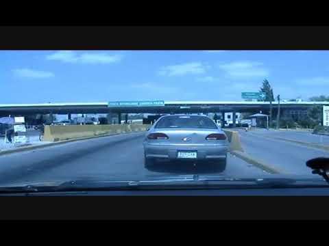 Driving in El Paso, Texas