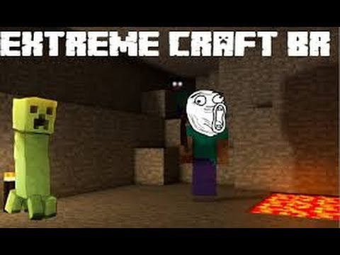 Minecraft Server survival 24 horas 1.5.2 Extreme Craft Br SERVER FECHADO